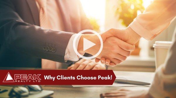 Why Clients Choose Peak